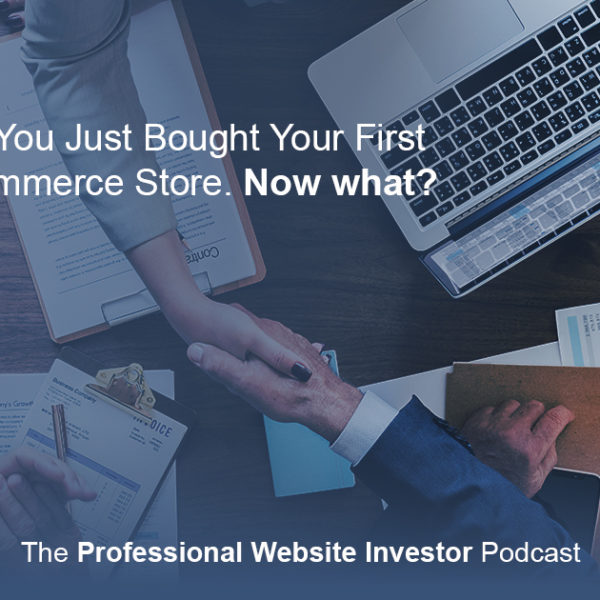 So, You Just Bought Your First Ecommerce Store. Now what?