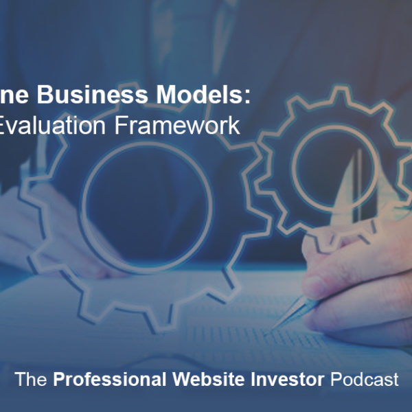 Online Business Models: An Evaluation Framework